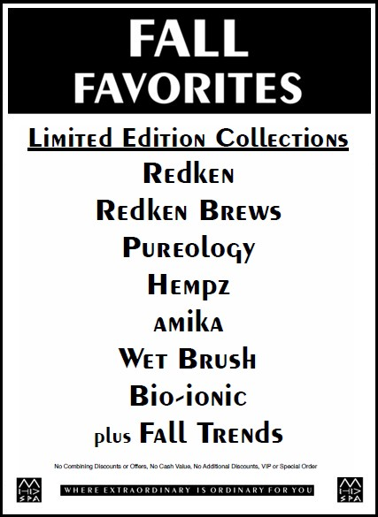 Fall Favs 1O18 Collections