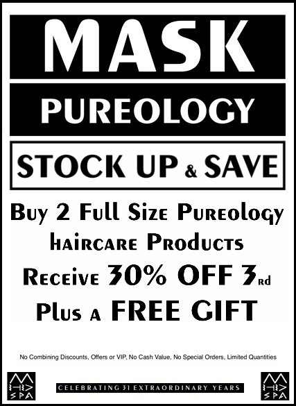 4-2019 Pureology stock up