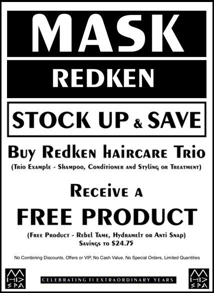 4-2019 Redken stock up