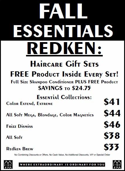 Fall Essentials 2019 Redken 2
