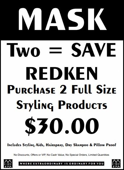 May 2020 Redken promo