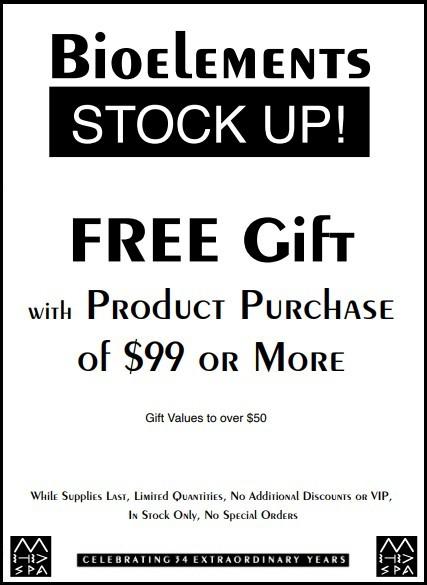 Bioelements Free Gift