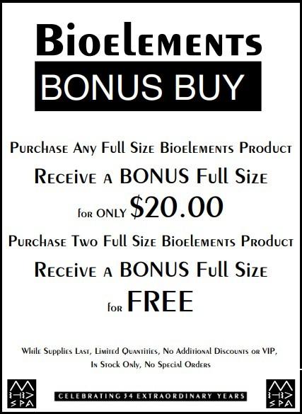 Bioelements Bonus Buy