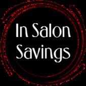 in salon savings